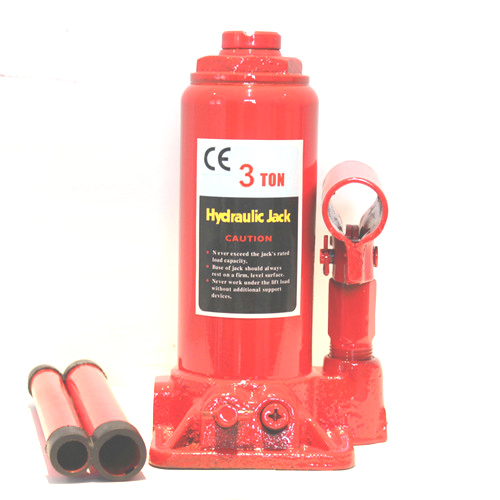 Hydraulic bottle Jack with safety valve