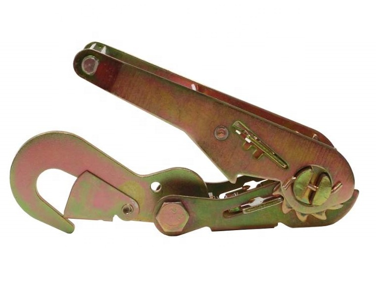 2inch 50mm 5T Tie Down Ratchet Buckle with Flat Snap Hook